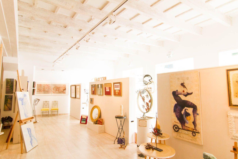 Galería de arte en menorca Retxa