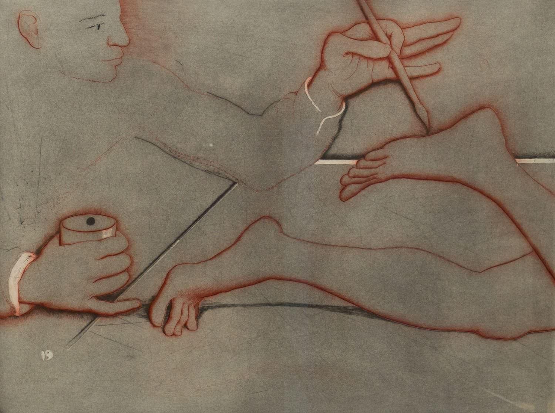 Gravado de Matias Quetglas galeria d'art retxa