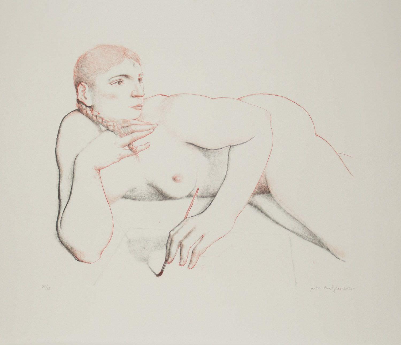 Litografía de Matias Quetglas galeria de arte
