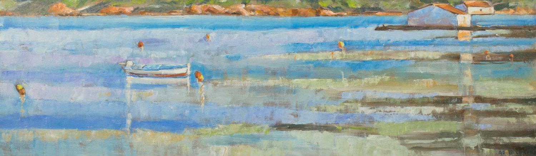 Pintura de Adolf LLovera artista de menorca