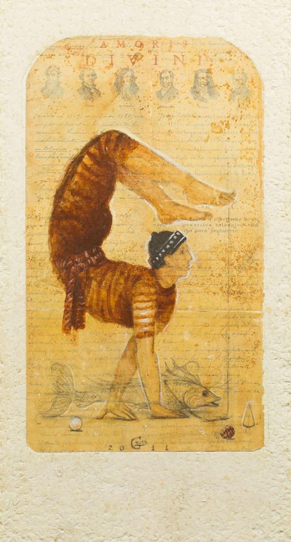 Pintura de Blas García art menorca