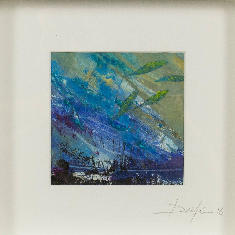 Pintura de Delfin galeria en menorca