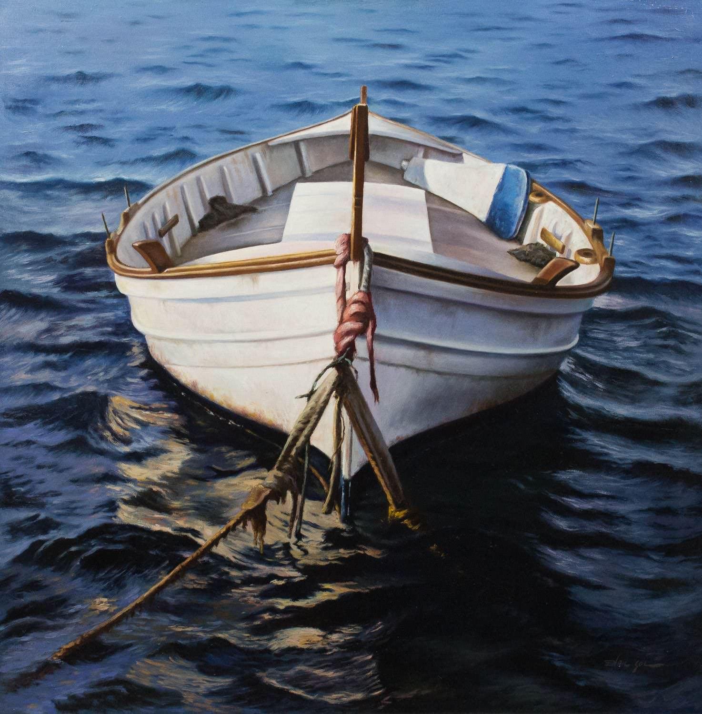 Pintura de Enric Gol galeria de arte de menorca
