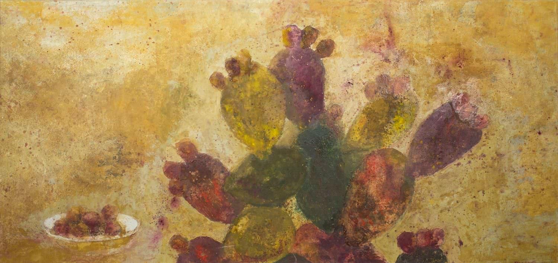 Pintura de Mercedes Angusto arte en menorca