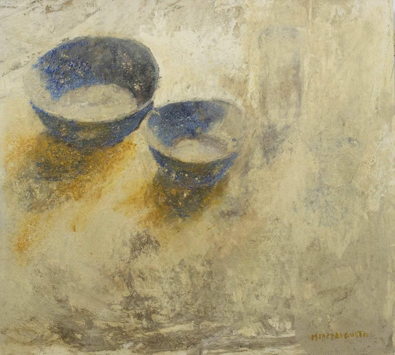 Pintura de Mercedes Angusto galeria de menorca