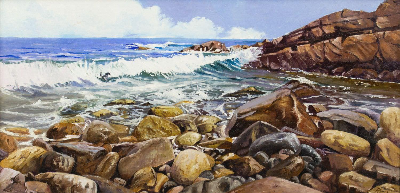 Pintura de Pedro Caules galeria de arte retxa
