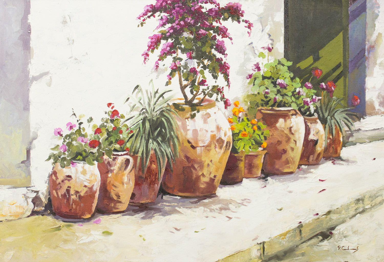 Pintura de Pedro Caules obra de art