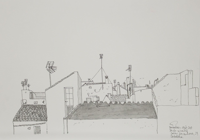 Tinta de Joan Brotons artista de menorca